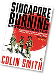 Paperback cover of Singapore Burning